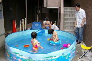 ハウスパーシモン 子供用プール