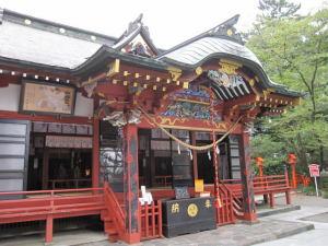 玉村神社本殿