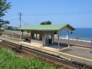 山陰本線田儀駅