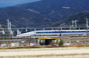 新幹線は速い!
